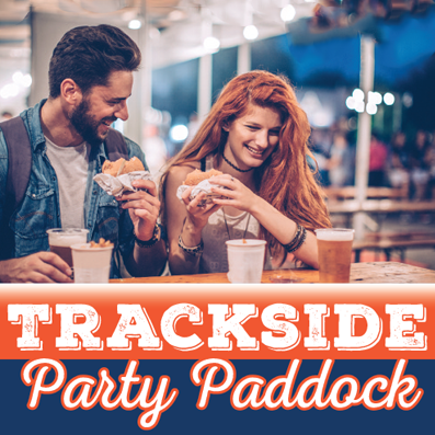 Trackside Party Paddock