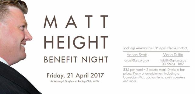 matt height