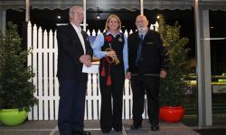 Warragul Greyhound Racing Club donates to RSL