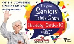 The great Seniors Trivia Show